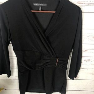 White House Black Market V-Neck Wrap Top - T9